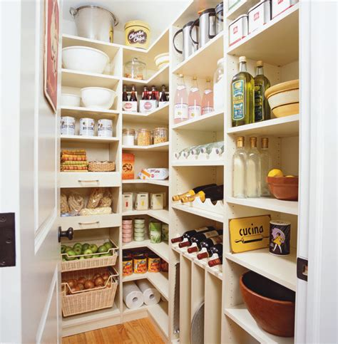 Kitchen Pantry Closet Organizers by Spacious Kitchen Pantry Traditional Kitchen New York