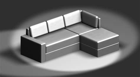 divani dwg 3d divano 3d cad model library grabcad
