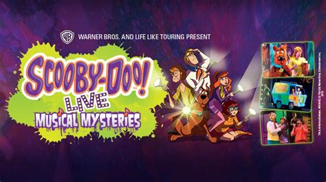 Karpet All New Scoopy scooby doo live musical mysteries wellington