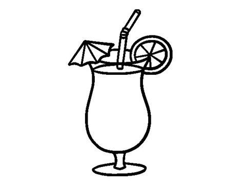 imagenes de juegos naturales para colorear dibujo de zumo tropical para colorear dibujos net