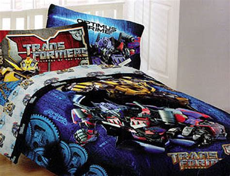 Transformers Bedding Comforter Optimus Bursting Full Bed Transformers Bedding