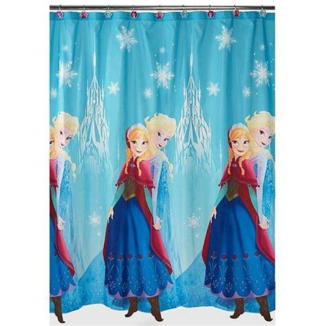 elsa curtains disney frozen shower curtains