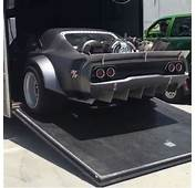 Is That A Jet Powered Charger On Set Of Fast 8 Movie