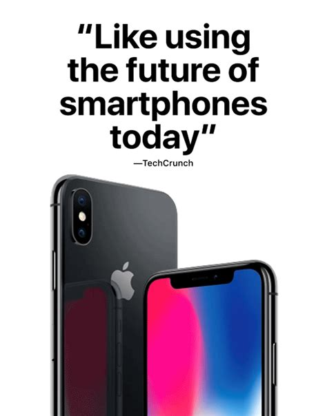 apple quotes apple shares handpicked quotes from early iphone x reviews