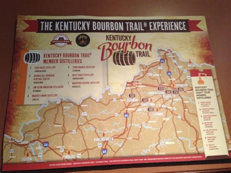 map kentucky bourbon trail 24 best images about whiskey bourbon scotch on