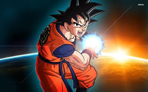 wallpaper dragon ball bergerak dragon ball z goku wallpapers wallpaper cave