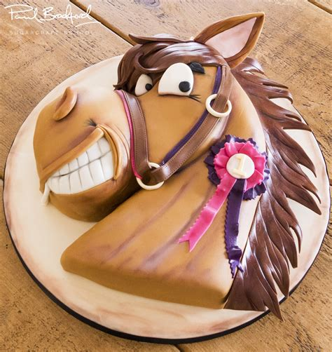 Home Decoration For Birthday by Horse Cake Paul Bradford Sugarcraft