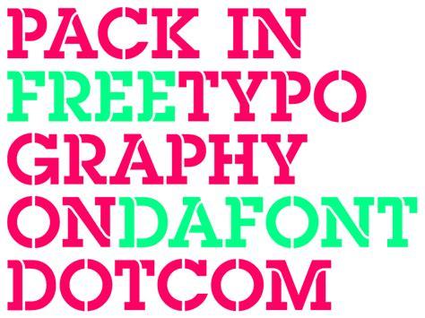Dafont Pack   pack in font dafont com