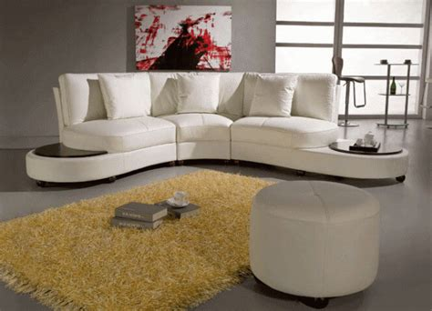25 Contemporary Curved And Round Sectional Sofas Curved Sofa Designs