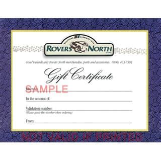Rover Gift Card - gift shop rovers north classic land rover parts
