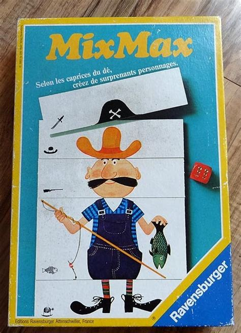Mix Maxy by Le Trou 224 Rat Mix Max Ravensburger 1985