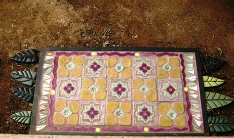 crafted magic carpet tile floor rug indoors or out