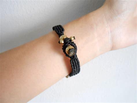 Handmade Cord Bracelets - colorful wax cord bracelet handmade cuff crochet wax