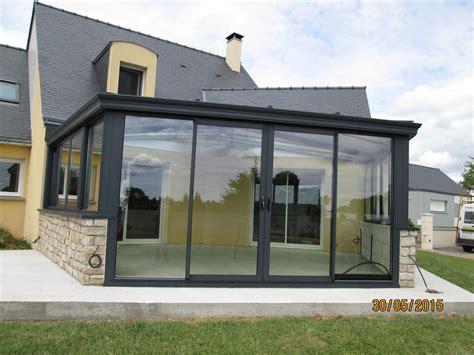 une veranda pose d une v 233 randa sur mesure en alu 224 plo 235 rmel 56