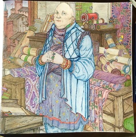 thrones colouring book completed just finished varys from the of thrones coloring book