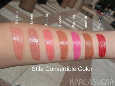 stila convertible color citrine s lip gloss lipstick and all that