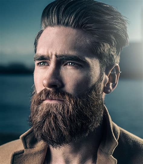 guys hairstyles with beards cool men s hairstyles with beards