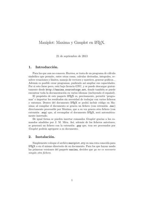 imagenes pdf en latex pdf de programaci 243 n maxiplot maxima y gnuplot en latex