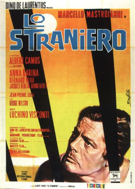 lo straniero by camus abebooks lo straniero the stranger italy france 1967 directed by luchino visconti based on albert