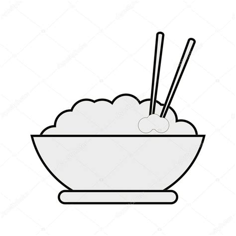 bowl of rice black white line art tatoo tattoo bowl of rice drawing at getdrawings com free for