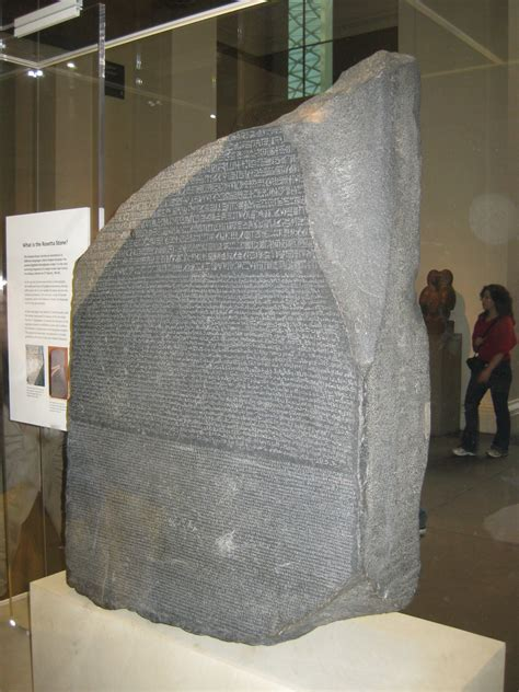 rosetta stone discovery the rosetta stone british museum without the discovery