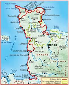 carte du cotentin arts et voyages