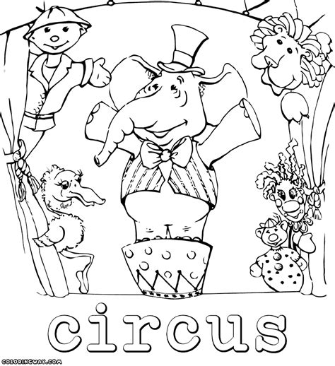Circus Coloring Pages Coloring Pages To Download And Print Circus Coloring Pages