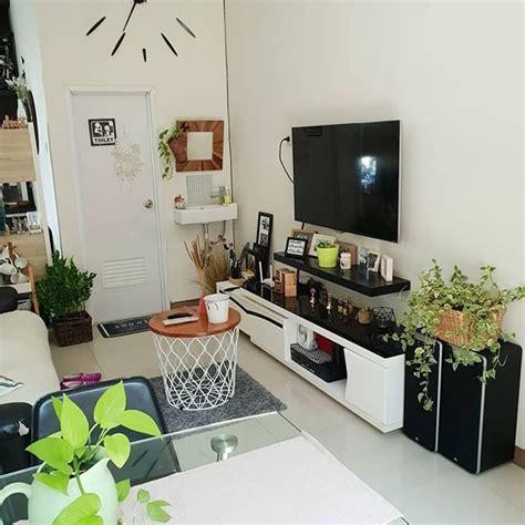 dekorasi ruang keluarga sempit  menata ruangan