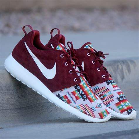 customize nike sneakers profound product custom quot tribal rug quot roshe run
