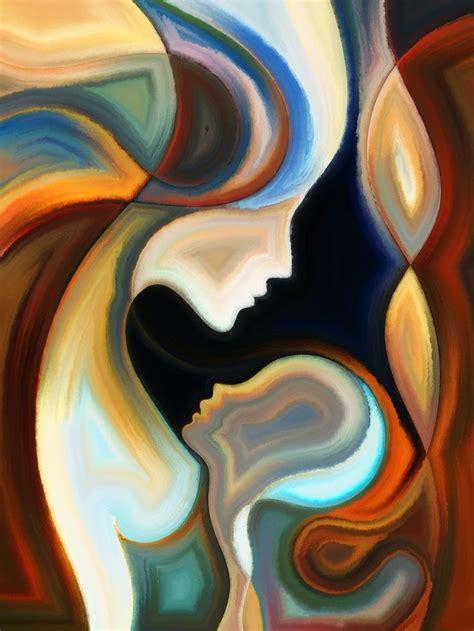 imagenes abstractas femeninas 17 mejores ideas sobre pintura femenina en pinterest