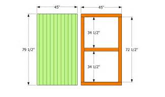 How to build a sliding barn door page 1 of 2 pictures to pin on