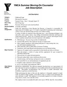 camp counselor job description for resume free resume