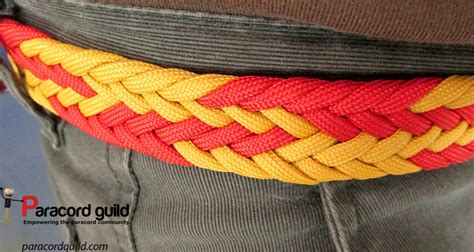 550 paracord braids braided paracord belt paracord guild