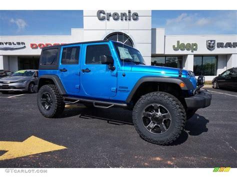 jeep wrangler unlimited sport blue 2015 hydro blue pearl jeep wrangler unlimited sport s 4x4