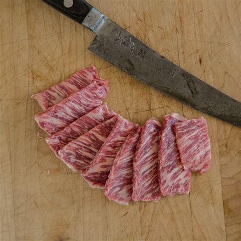 inner skirt steak inside skirt steak 3 steaks lone mountain wagyu