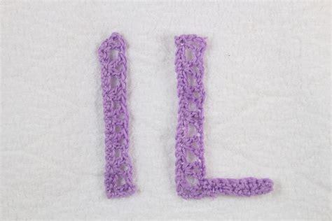 lettere all uncinetto alfabeto alluncinetto lettere i l crochet alphabet