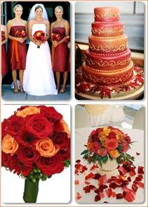 orange wedding colors wedding color combinations color schemes basics budget