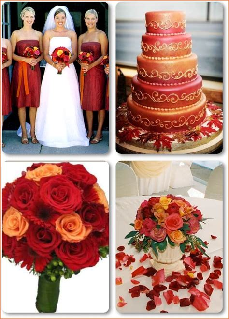orange wedding colors wedding color combinations color schemes basics