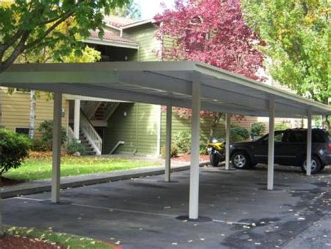 diy how to build a flat roof carport plans free