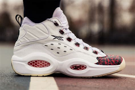 the answer basketball shoes reebok unveils prototype of the question for allen iverson