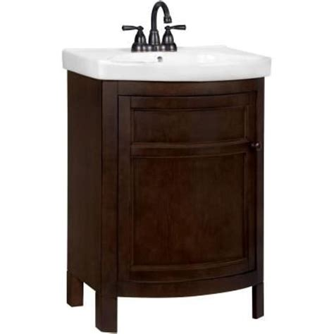 Vanity Handles And Knobs Tuscan 23 3 4 In W X 18 1 4 In D Vanity In Chocolate