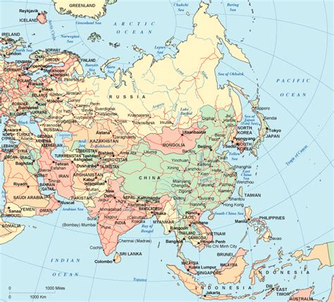maps of asia asia map region country map of world region city