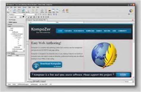 kompozer templates free ten best html editor for mac you can for free