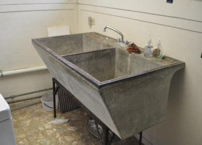 cement laundry sink original antique concrete wash laundry tub material