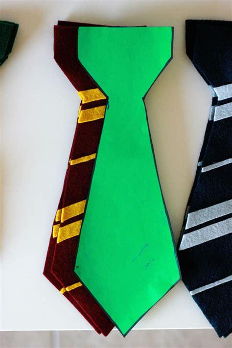 harry potter felt ties felt harry potter ties and house flags one sweet appetite