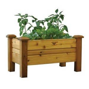 gronomics      safe finish cedar planter box pb