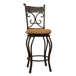 24 Bar Stools With Backs Boraam Beau 24 In Swivel Counter Stool With Back Bar