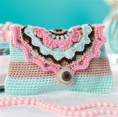 pattern crochet wallet stripy crochet purse crochet pattern