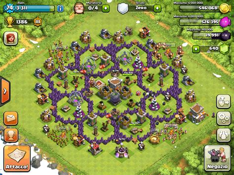 layout in coc coc th 10 war attack myideasbedroom com