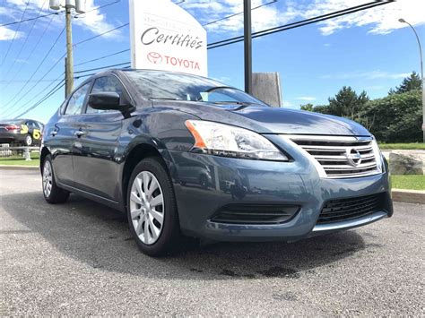 used nissan sentra used 2014 nissan sentra s in gatineau used inventory